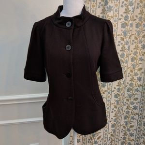 Lafayette 148 Jacket Coat Wool Statement Buttons